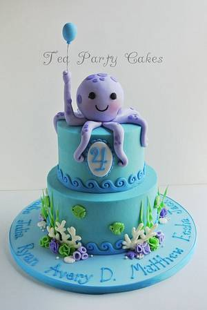 Under the Sea - Cake by Tea Party Cakes