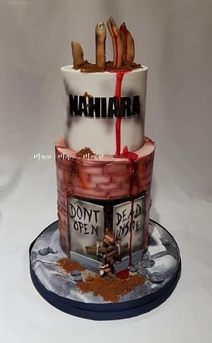 The Walking Dead cake para Nahiara - Cake by Marisa Morelli Monfort