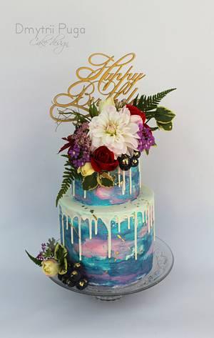 Drop cake  - Cake by Dmytrii Puga