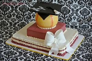 Class of 2014 - Cake by Magda's cakes