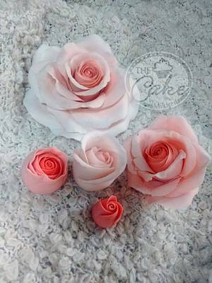 Roses - Cake by TheCake by Mildred