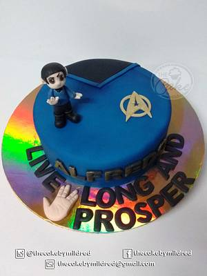 Live Long And Prosper - Cake by TheCake by Mildred
