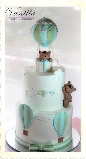 Hot Air Balloon Cake - Cake by Vanilla Studio