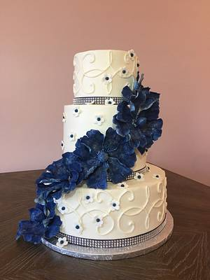 Wedding Cake - Cake by Brandy-The Icing & The Cake