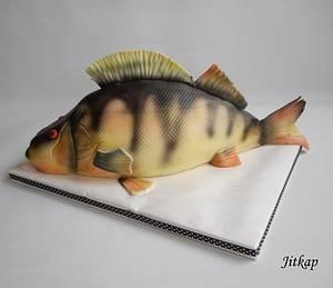 Bass cake for fishermen - Cake by Jitkap