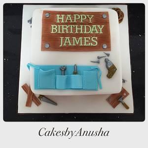 Birthday Cake  - Cake by CakesbyAnusha