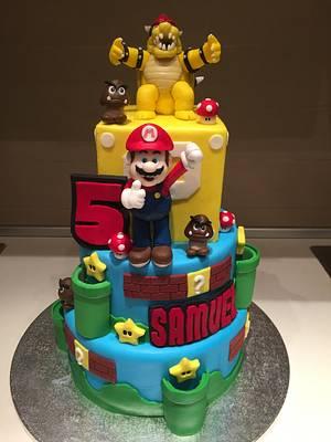 Super Mario Cake - Cake by Micol Perugia