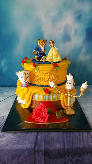 Beauty and the Beast - Cake by Claudia Kapers Capri Cakes