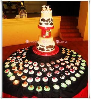 Cowboy Wedding cake - Cake by quennie