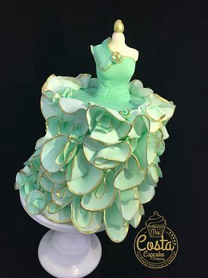 Cake Couture Collaboration 2018 - Cake by Costa Cupcake Company