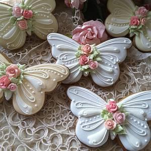 Butterflies  - Cake by Teri Pringle Wood