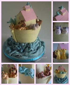 Noah's Ark Cake - Cake by Sugar & Spice Cake Shop