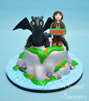 How to Train Your Dragon Cake - Cake by Sweet Success