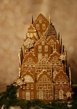 Christmas in Germany - Cake by Margie