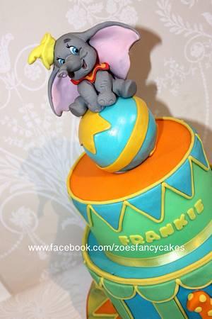 Dumbo - Cake by Zoe's Fancy Cakes