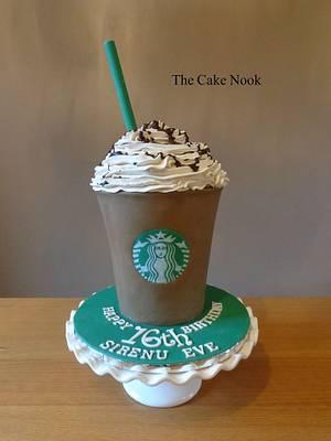 Starbucks Frappacino Cake - Cake by Zoe White