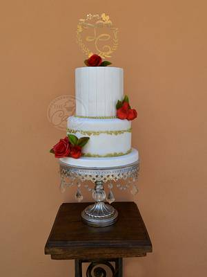 When Your Son Gets Married - Cake by TheCake by Mildred
