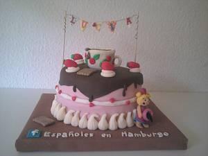 Pastel tartita. - Cake by maria jose garcia herrera