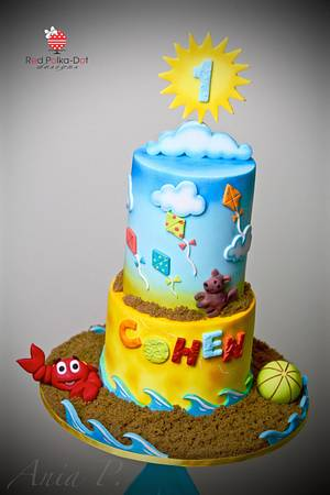 Summer Birthday - Cake by RED POLKA DOT DESIGNS (was GMSSC)