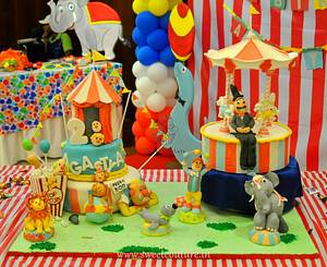 Carnival themed cake - Cake by Sunaina Sadarangani Gera