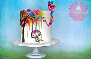 Ben's Color Tree - Cake by Shawna McGreevy