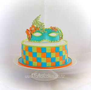 Something a little different - Cake by Fantail Cakes