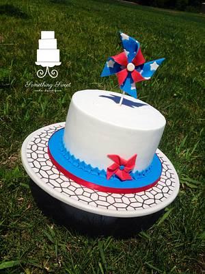 Pinwheel Cake - Cake by Something Sweet