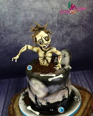 Zombie cake - Cake by crazycakes