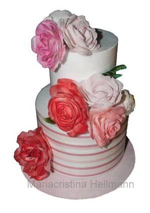 Wafer paper cake - Cake by Mariacristina Hellmann