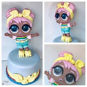 LOL Dawn cake - Cake by Bombshell Bakes