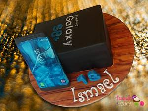 SAMSUNG GALAXY S8+ FOR CHRISTMAS!! - Cake by Fabriquilla de Azucar