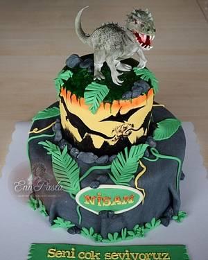 Dinosaur Cake - Cake by Evren Dagdeviren
