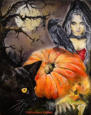 Halloween Twilight - Cake by Calli Creations