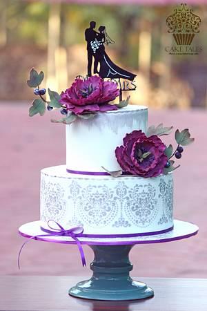 lavender love! - Cake by Meenal Rai Shejwar