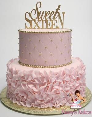 Sweet 16 - Cake by Kimmy's Kakes