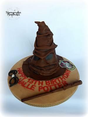 Harry Potter Sorting Hat Cake - Cake by Spongecakes Suzebakes