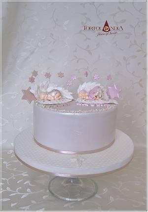 Christening cake  - Cake by Tortolandia