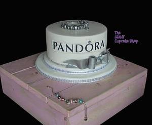 Pandora Bracelet Cake - Cake by Amelia Rose Cake Studio