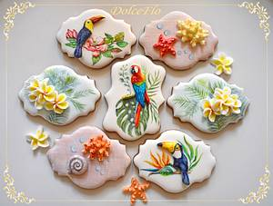 Scent Of Summer...Tiaré - Cake by DolceFlo