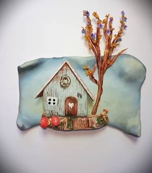 Little Teal House - Cake by Cookies by Joss