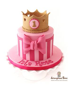 Isla Rose Collection - Cake by Scrumptious Buns