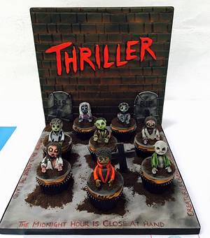 Thriller Cupcakes - Cake by Gill W