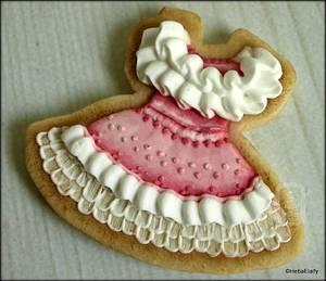Vintage summer dress cookie - Cake by Sweet Dreams by Heba