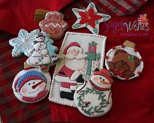 Christmas 2017  - Cake by Tina Tsourtsoulas