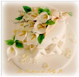 ...il suo fiore preferito... - Cake by La Torteria di Polly Dì