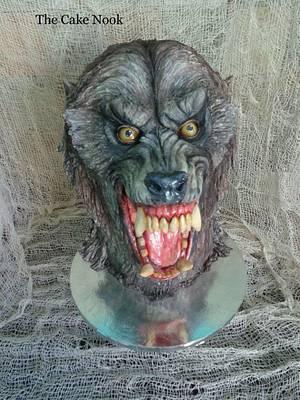 American Werewolf In London cake - Cake by Zoe White