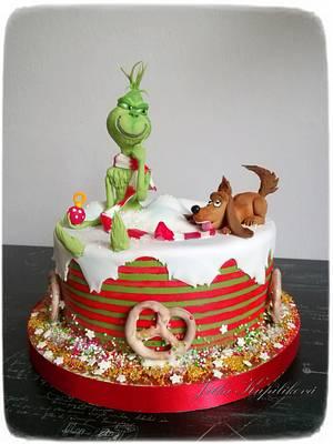 Grinch - Cake by Jitka