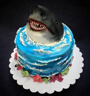 Shark Cake - Cake by Paladarte El Salvador