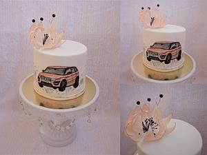 Ranger rover cake - Cake by Daphne