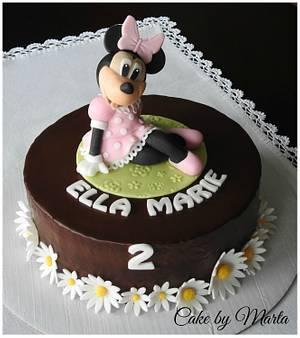 Minnie cake - Cake by MartaMc